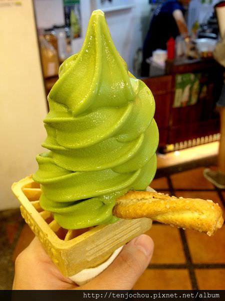 【台北食記】萬華西門町-宇治右衛門抹茶霜淇淋