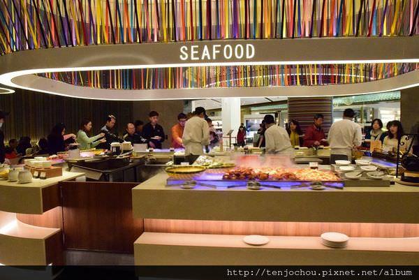 漢來海港餐廳吃到飽-海鮮.JPG