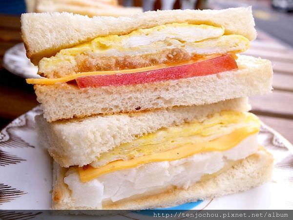 【台北食記】早餐研究所 安東公園旁的特色小店 東區好吃三明治早餐推薦!
