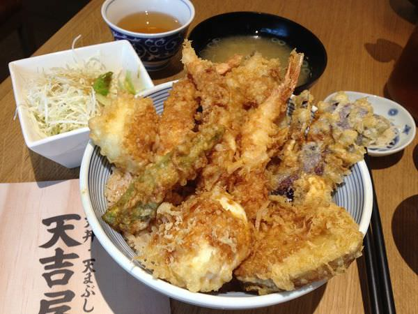 【台北食記】東區-天吉屋-來自日本的美味天丼,漲價後c/p值普普