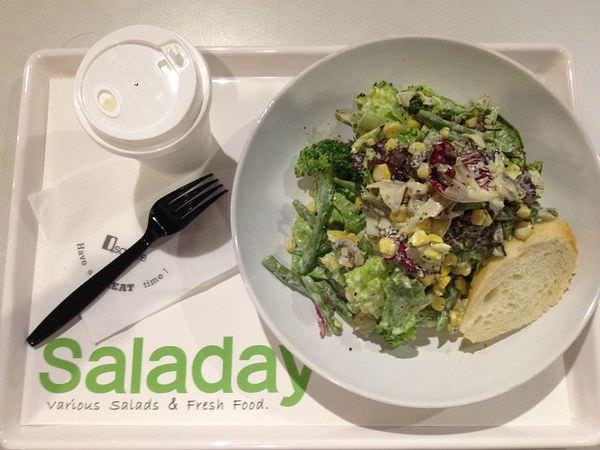 【台北食記】京站-saladay-自由創作特製沙拉!健康吃素愛地球原來這麼簡單! *已結束營業