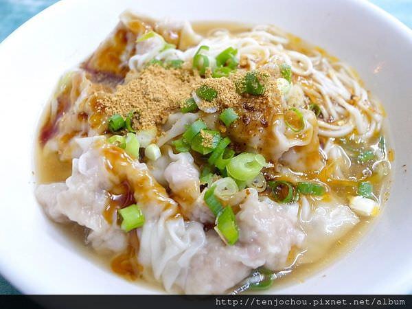 【台北食記】阿慶餛飩乾麵 跟著運將大哥吃美食 通化夜市平價小吃
