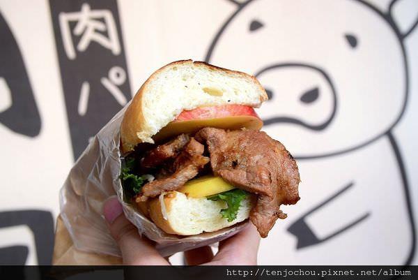 【台北食記】稍飽 炭烤燒肉麵包 華山期間限定日式美食!大塊燒肉多汁好吃!