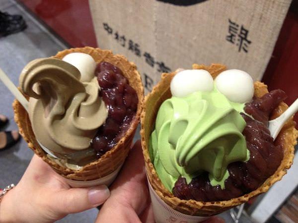 【京都食記】京都車站-中村藤吉next、祇園-茶寮都路里,抹茶冰淇淋大PK