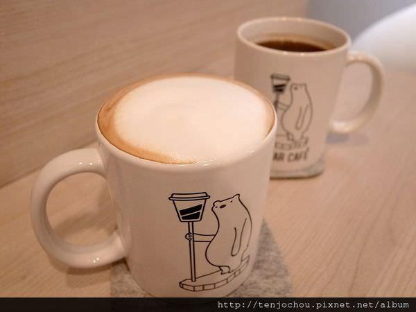 【台北食記】東區-POLAR CAFE 超可愛北極熊主題咖啡店