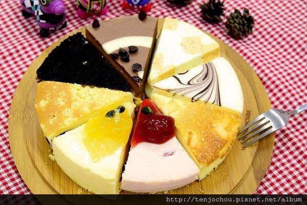 【台中食記】Mountain Cake重乳酪首選 稻草人 獅子 錫鐵人 每種口味都超級好吃!