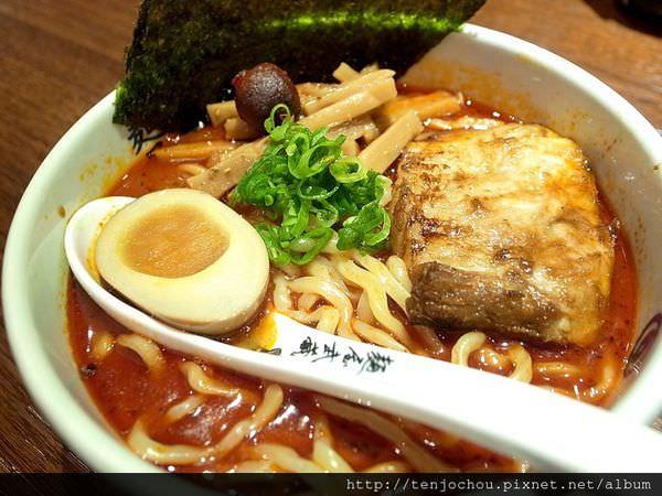 【台北食記】麵屋武藏虎嘯 來自日本的銷魂辣味拉麵 我好想念涉谷限定沾麵啊 東區餐廳推薦