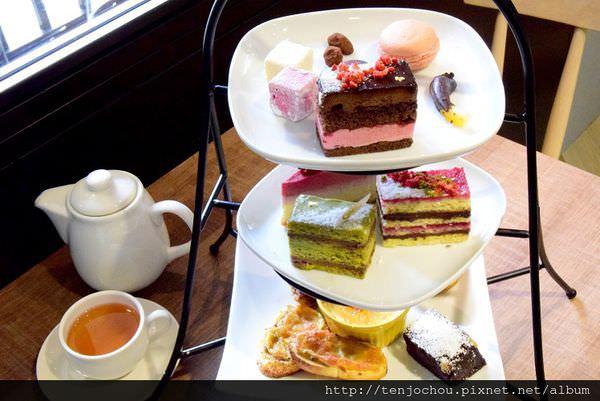 【台北食記】七見櫻堂巧克力專賣店 女孩必吃的下午茶三層架 師大夜市甜點蛋糕店推薦