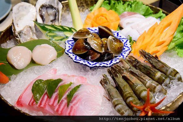 【台北食記】東區-泰集Thai Bazaar冬天必吃綠咖哩海鮮火鍋