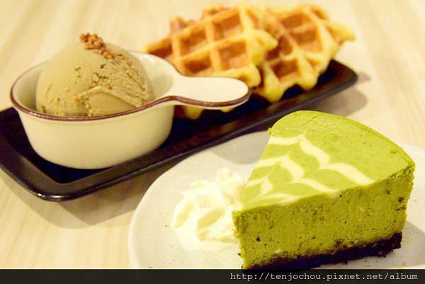 【台北食記】南京復興 Machikaka 一吃難忘抹茶重乳酪蛋糕