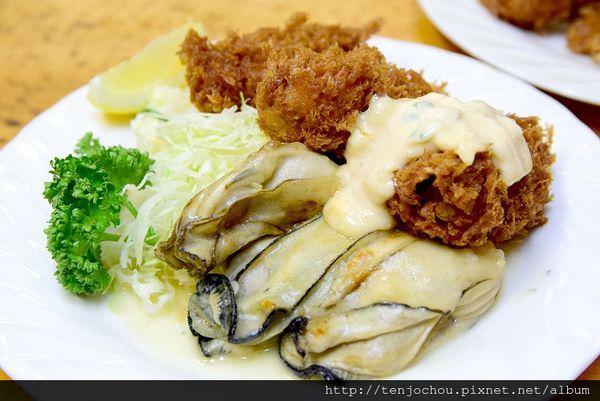 【日本東京食記】小田保 超肥美六顆牡蠣定食!築地必吃排隊美食推薦