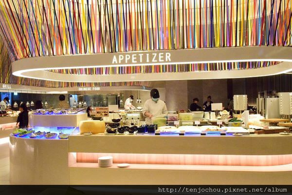 漢來海港餐廳吃到飽-開胃菜.JPG