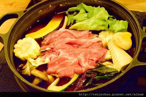 【台北食記】夏部壽喜鍋 壽喜燒六種肉品吃到飽 附飲料甜點好吃推薦