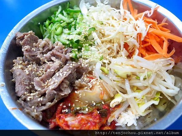 【台北食記】金羅道韓式料理 自助吧吃到飽只要100元 省錢吃飯推薦 通化夜市臨江街