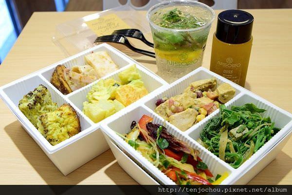 【台北食記】NISORO LOHAS ELLE雜誌推薦!熱量控制餐好吃又快速!人人都可以輕鬆健康吃