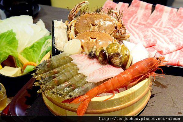 【台北食記】花敦道鍋物 cp值爆高!海鮮盤裡居然有胭脂蝦!好吃火鍋推薦