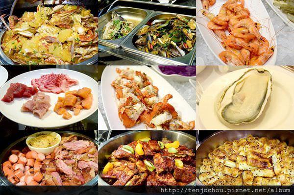 【台北食記】三德大飯店 生蠔螃蟹生魚片吃到飽