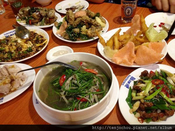 【台北食記】長安東路-臨洋港生猛活海鮮 百元熱炒聚餐推薦