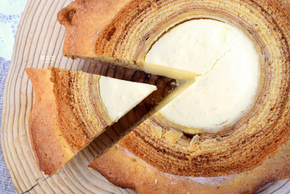 【台北食記】iCookie私房手作 傳承日本的美味!十四層烘烤極品脆皮年輪蛋糕!