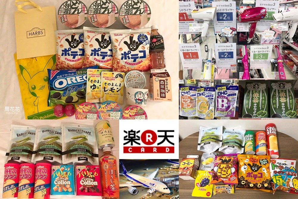 【樂天信用卡】日本旅遊必辦!終身免年費、點數回饋無上限!藥妝、電器、零食採購省超多!
