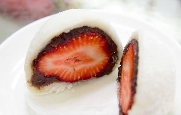 【台北食記】天母 三明堂 手作和菓子 超好吃草莓大福