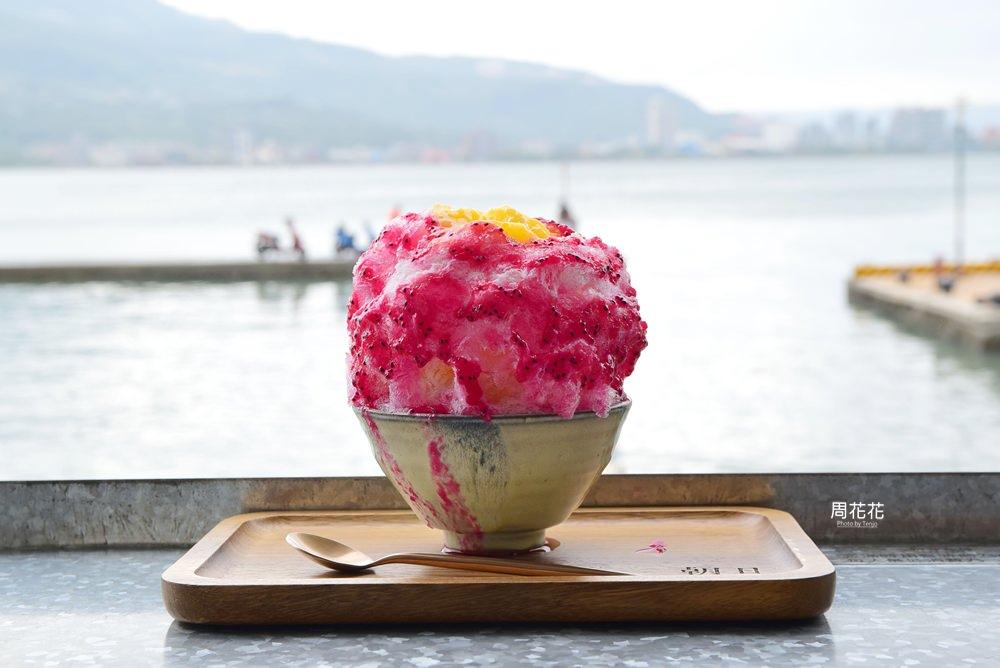 【台北食記】朝日夫婦 在淡水河畔吃一碗沖繩刨冰!浪漫約會人氣新店推薦