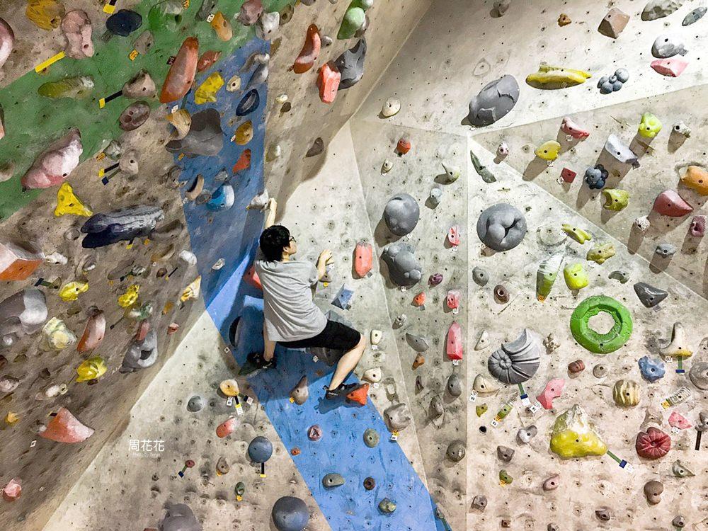 【新北新莊】STONE Bouldering Gym全國最大攀岩抱石場!玩一整天只要160元起