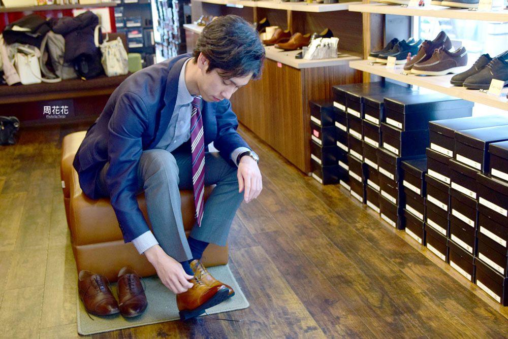 【北海道札幌狸小路】靴の椿 手工增高鞋瞬間長高7公分!日本百年老店製造品質保證