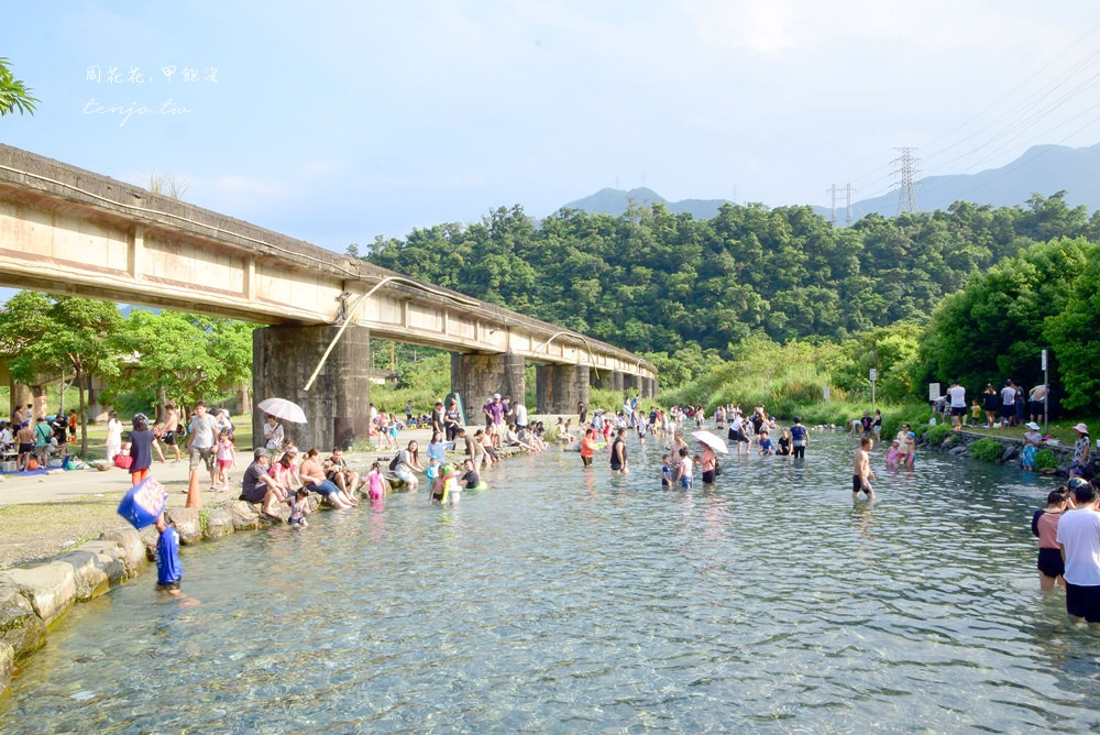 【宜蘭南澳景點推薦】東岳湧泉 14度超低水溫野溪!清涼消暑免費玩水好去處