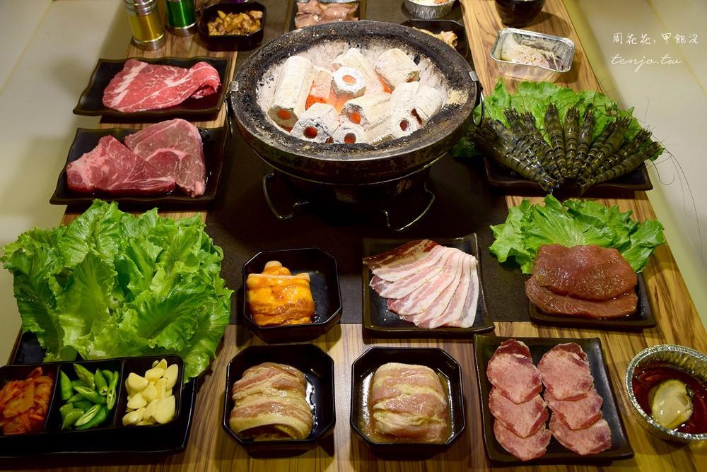 【宜蘭食記】愛烤愛對囉 cp值超高燒烤吃到飽!牛排、海鮮、韓式烤肉全吃得到