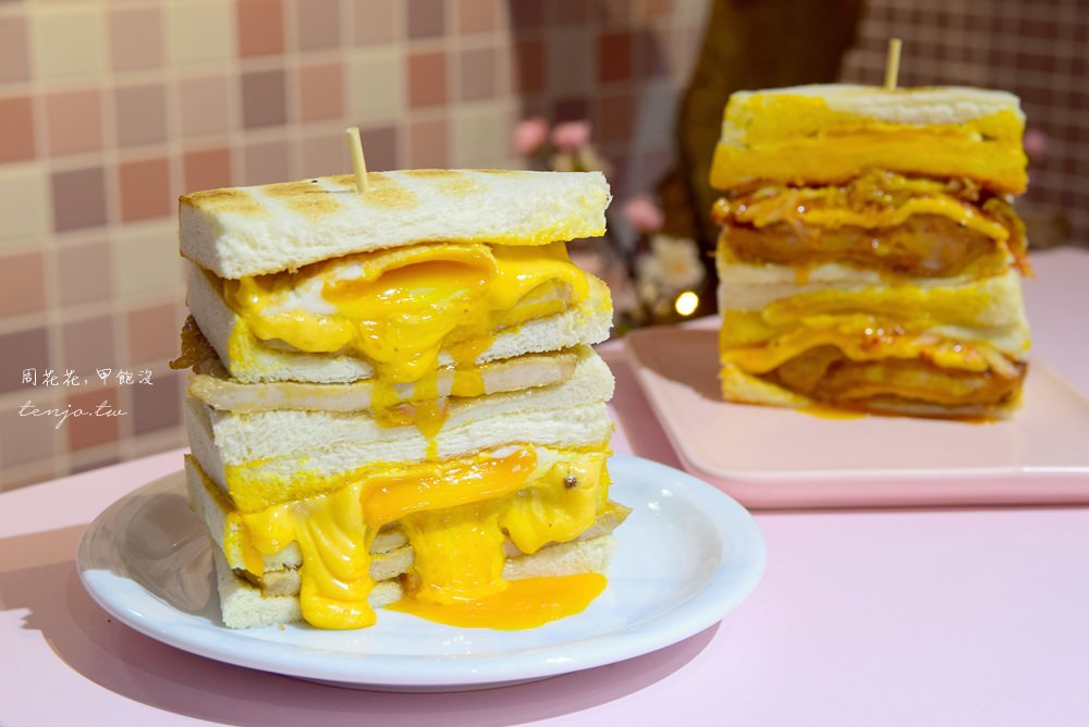 【台北食記】餓店蒸氣吐司 三重必吃早餐推薦!隱藏版厚切蛋餅更是好吃,完全無雷啊