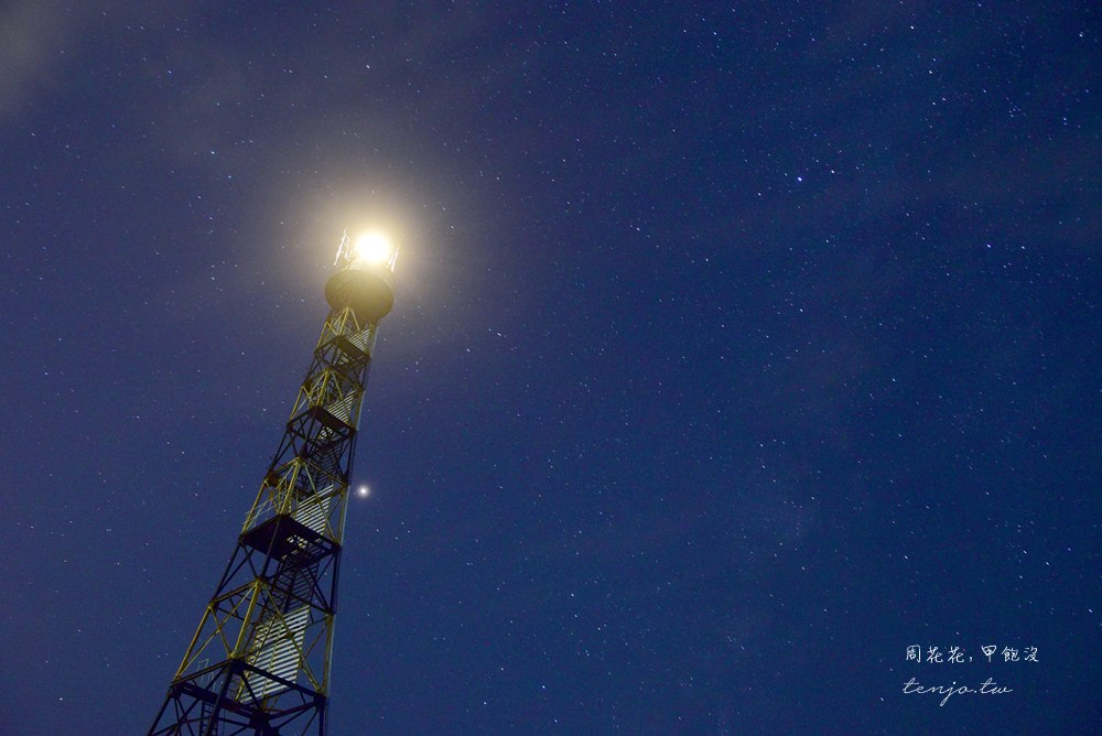 【台南夜景】七股國聖燈塔 台灣極西點絕美星空!夜拍銀河、流星雨景點推薦