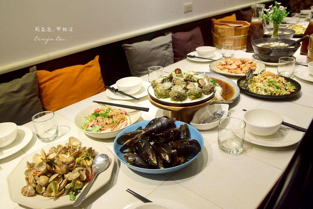 【馬祖食記】長堤荇菜廚房 東引無菜單料理推薦,蔡家私房菜進來煮給你吃!