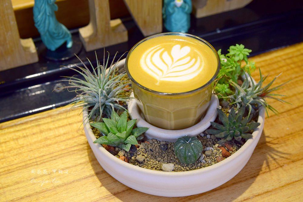 【台北食記】Coffee Sind 多肉植物、溫馨小店,捷運忠孝新生站平價咖啡店推薦