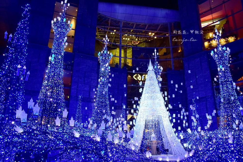 【東京遊記】Caretta汐留 2018聖誕節點燈活動!迪士尼MovieNEX公主系列主題
