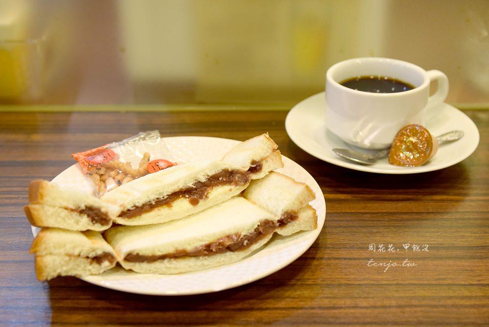 【名古屋美食】喫茶Riyon 全天候點飲料送吐司!小倉紅豆熱壓三明治,早餐下午茶咖啡店