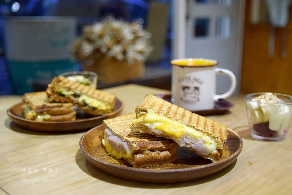 【台北食記】Cocorico小食店 合江街巷弄內平價帕里尼,百元三明治、咖啡、現打果汁