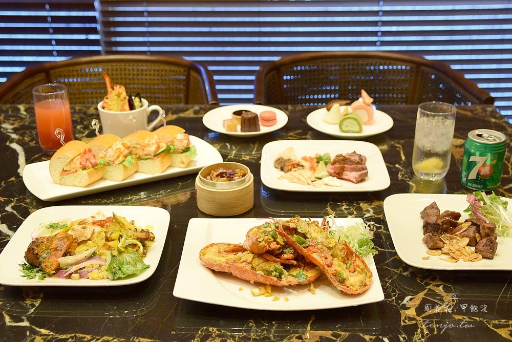 【台北美食】喜來登大飯店十二廚 五星buffet自助餐廳吃到飽!龍蝦、鮑魚、牛排無限吃