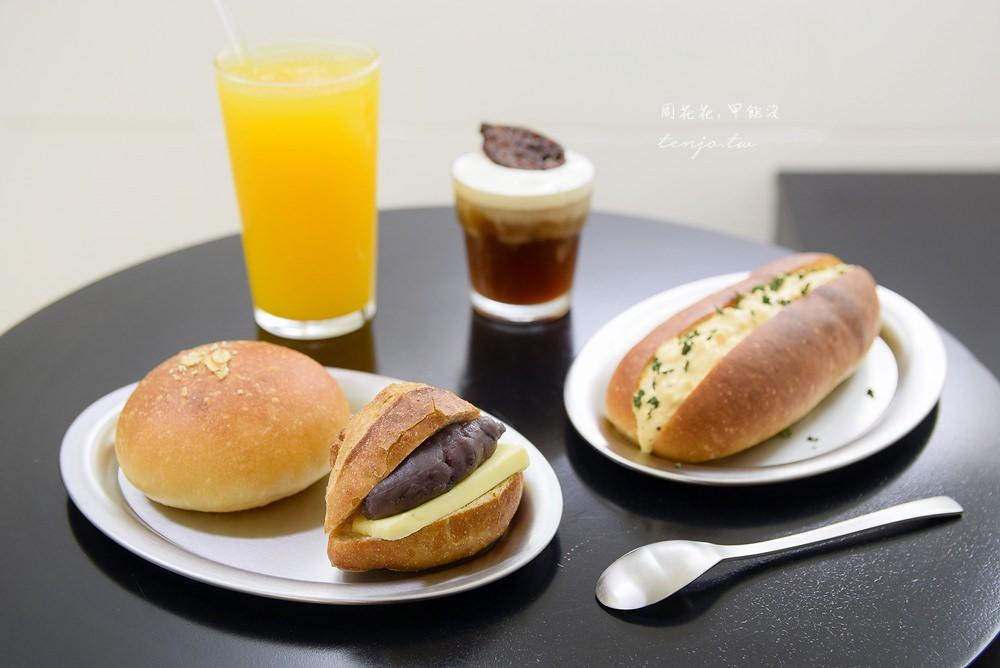 【台北美食】Moon baking 神好吃紅豆圓法!自家烘焙麵包水準極高,近捷運大安站