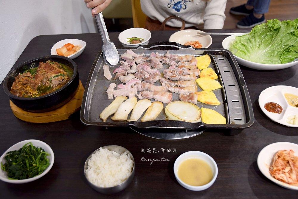 【台北美食】東輝韓食館 馬鈴薯豬骨湯名店!食尚玩家推薦行天宮巷弄韓式料理