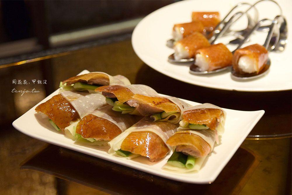 【新莊典華】華亭聚 全台唯一開放式窯爐烤鴨!握壽司、片皮鴨、鴨粥道道好吃