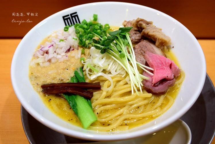【日本東京食記】竹末東京 tebelog3.97分!超好吃雞白湯拉麵,押上晴空塔美食推薦