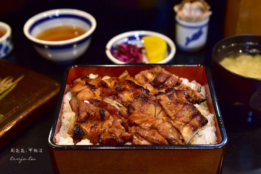 【東京人形町美食】久助 tabelog3.58分!超值烤雞肉蓋飯,備長炭燒鳥加飯不加價