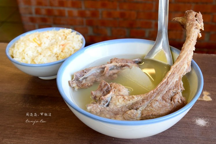 【台北食記】灶頂高麗菜飯、原汁排骨湯 大橋頭古早味美食推薦