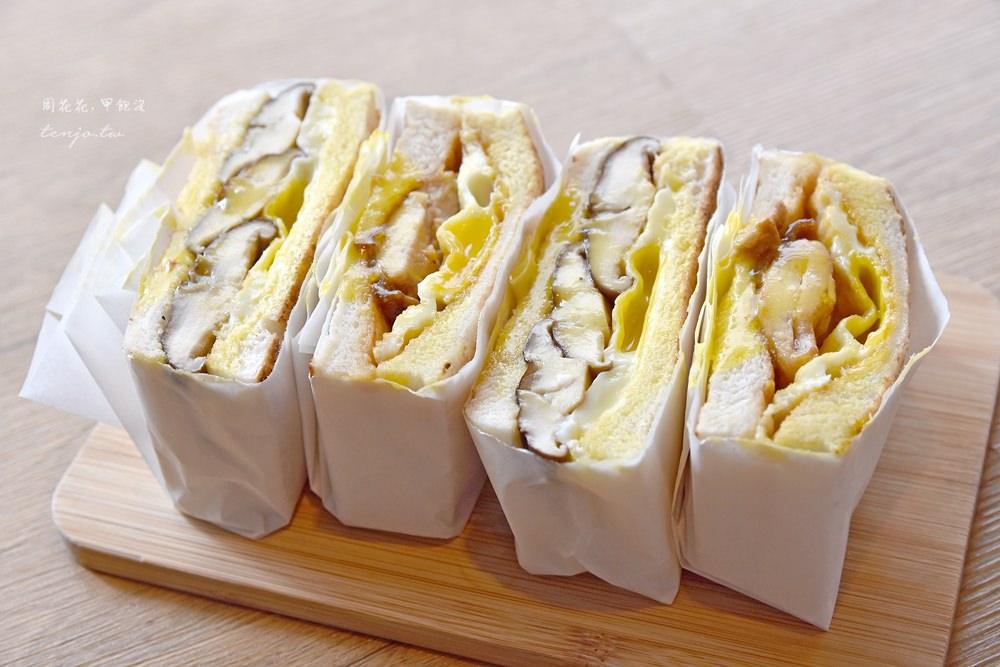 【行天宮早餐推薦】良栗商號 巷弄銷魂美食!爆漿半熟蛋炭烤吐司、冬瓜鮮奶茶