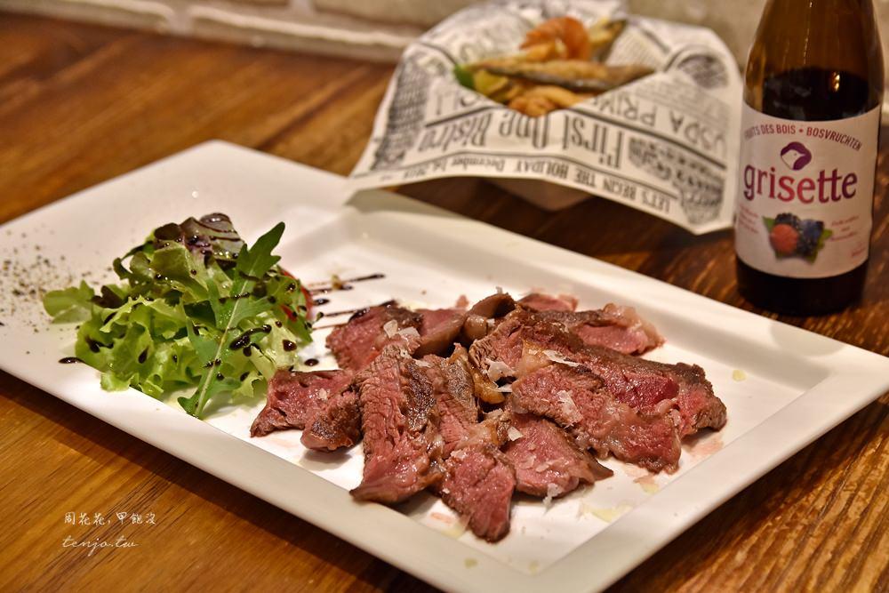 【中山站美食】First One Bistro 佛斯特旺餐酒館 平價好吃義式料理,推薦必點起司捲
