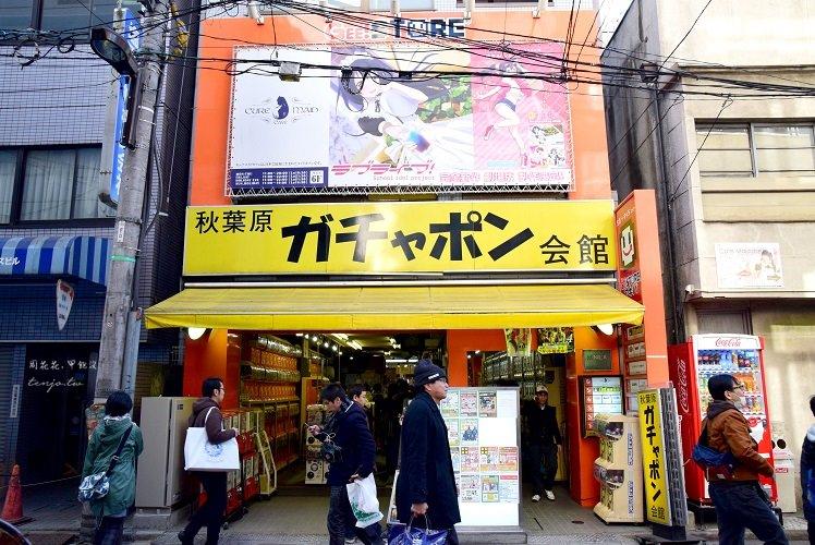 【日本東京遊記】秋葉原扭蛋會館 500台扭蛋機讓你轉到失心瘋!玩具控必來勝地!