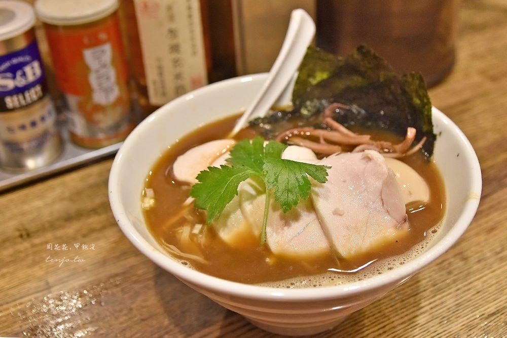 【新橋美食】新橋纏 tabelog3.78分百名店!烏賊干雞白湯醬油拉麵超級好吃