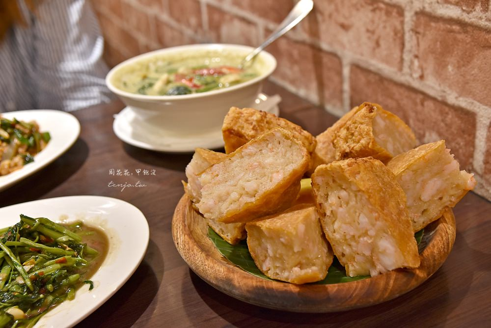 【台北美食】泰獅泰式料理 超厚月亮蝦餅!武昌街巷弄內泰國餐廳,高人氣建議先訂位