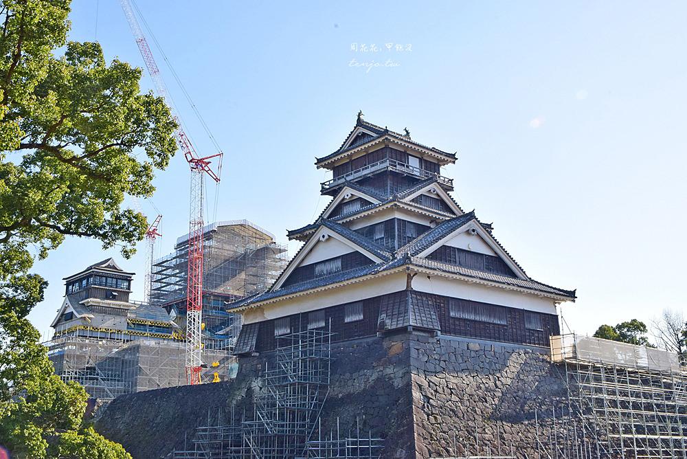 【熊本景點】熊本城 日本三大名城!櫻之馬場城彩苑、加藤神社 交通旅遊資訊總整理